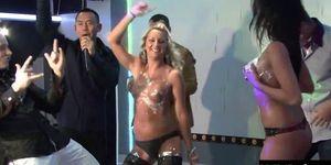 Carmen Blue Christina Lee Cindy Dollar and Eliss Fire a
