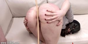stunnigly hardcore BDSM rope sex with anal action