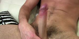 Pornstar Trystan Bull cumshot