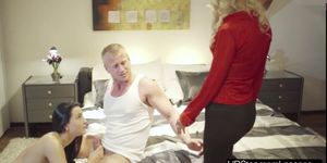 Anna Rose and Denis unbelievable threesome