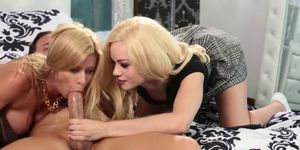This threesome with Elsa Jean and Jessy Jones is HOT