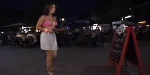 Hot naked waitresses - nude in public game