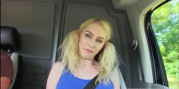 Blonde Brit Gets Fucked by A Stranger