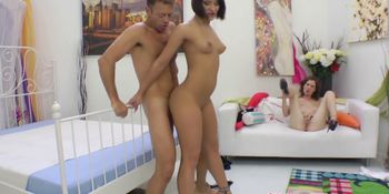 Tantric italian lover gives rimjob session
