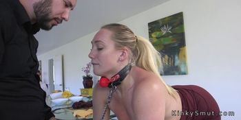 Wife gets dp with husband and his boss