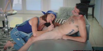 Izzy Bell and Silvia Saige loves a big erect to lay