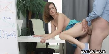 Fervent College Girl Is Teased and Shagged by Elderly T