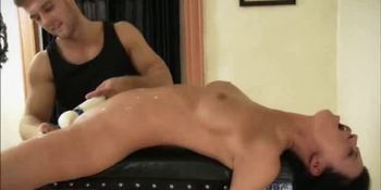 Bound Babe Cropped Hot Waxed And Masturbated