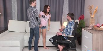 Leana Punished Into Cuckolding Role