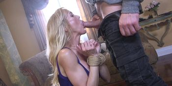 Awarded big tits Milf banged by her fan