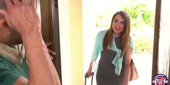 Blonde Elena Gets Filled with Warm Cum in The Bedroom