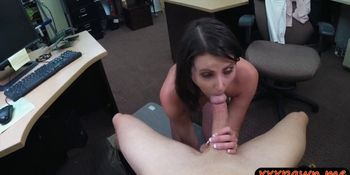 Horny wife teases and strip off then pawns pussy for ca