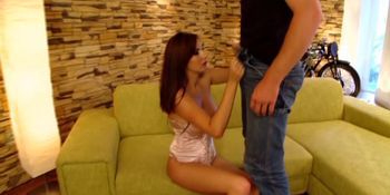 Hot and horny conny has a little gift for her friend