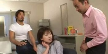 cute Japanese girl getting fingered