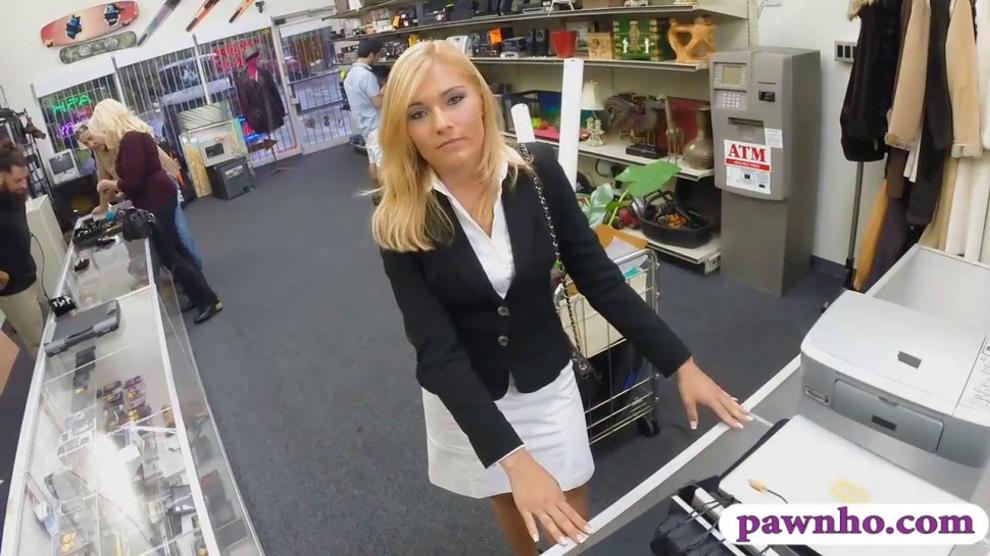 Blonde Milf Blows And Fucks The Mall Cop To Get Off Tnaflix Porn Pics