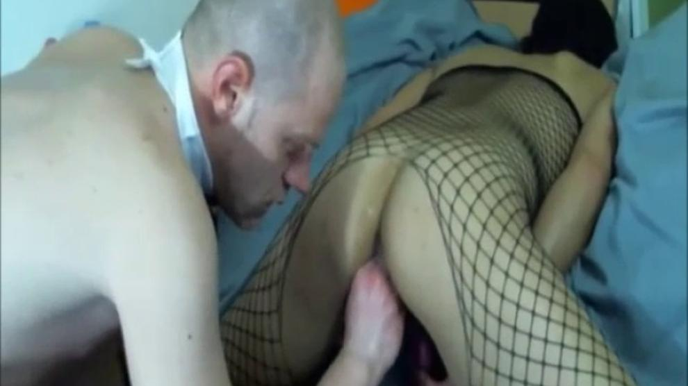 Intense Amateur Dp Orgasm