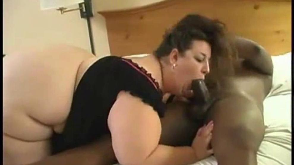 Fat Black Ass Rides White Cock