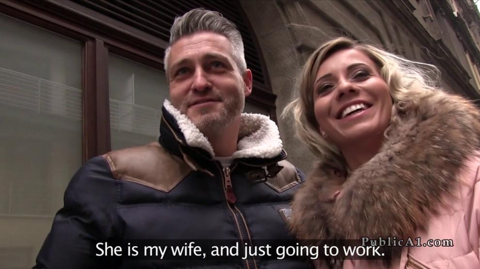 Stud Fucks Husband Wife