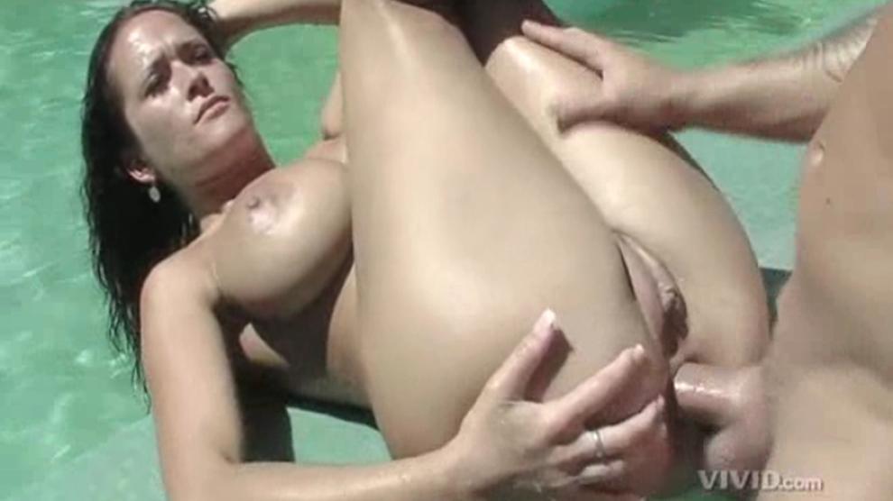 Huge Tits Anal Threesome Hd