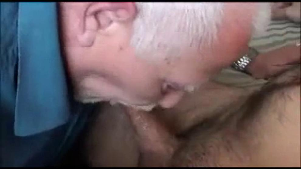 Young Girl Teases Old Man
