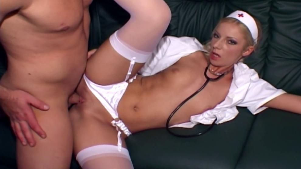 Sexy Teen White Stockings