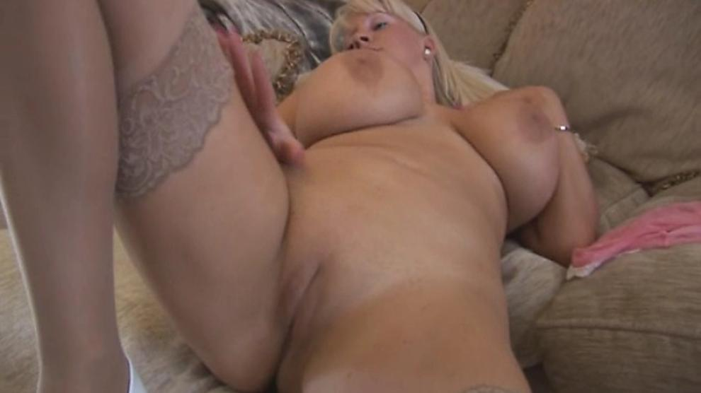 Busty Blonde Cougar Pov