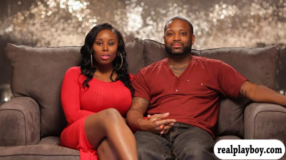 Ebony Black Teen Threesome
