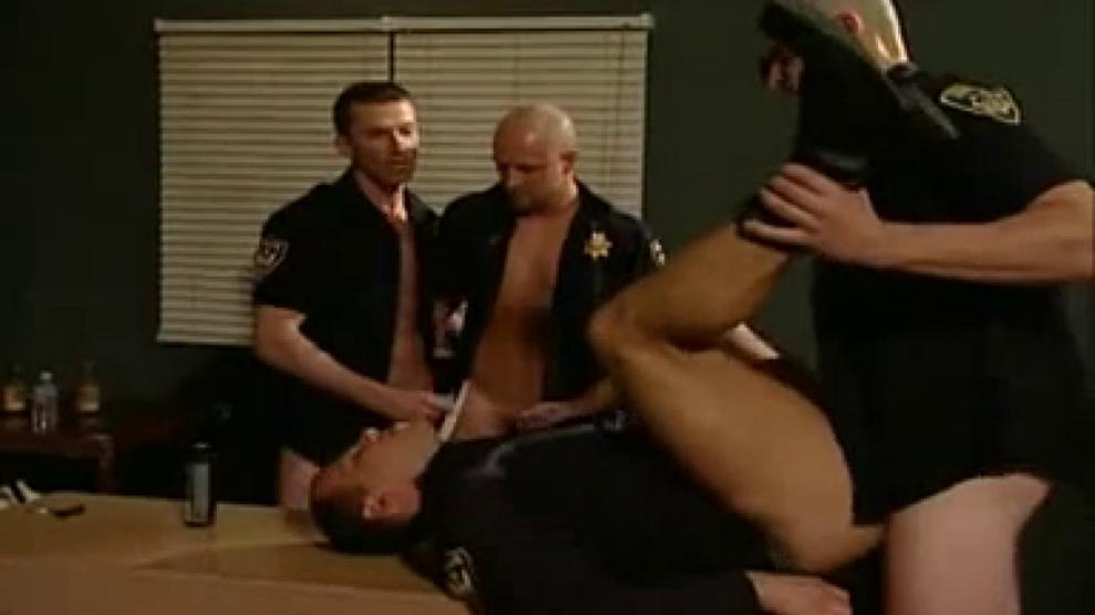 Male cop orgy