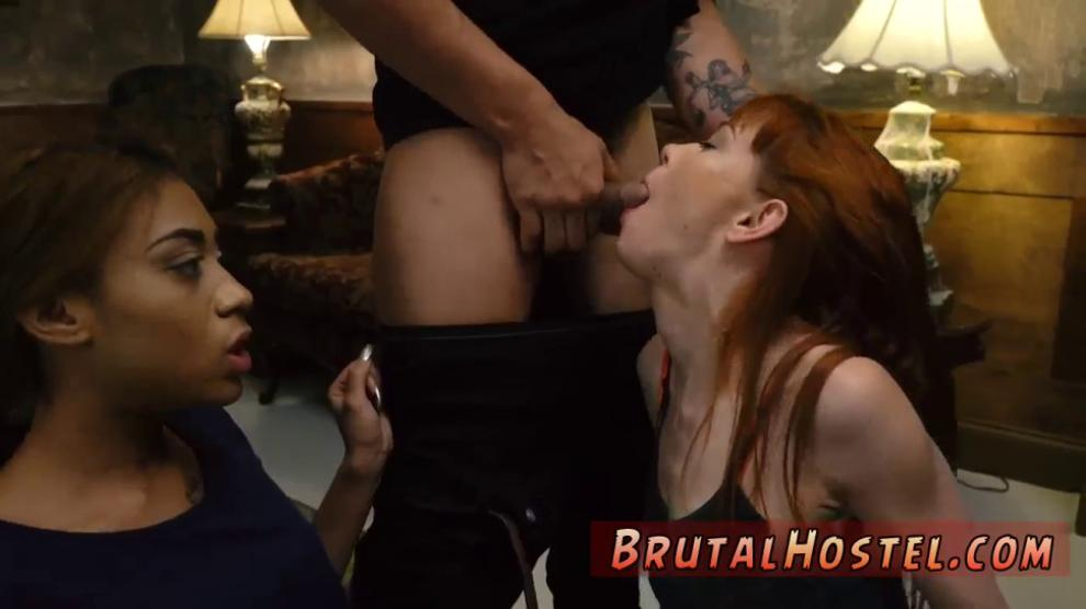 Brunette Milf Painful Anal