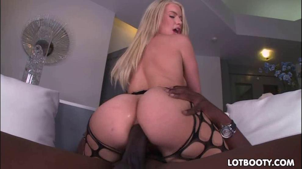 Big Black Ass Takes White Dick