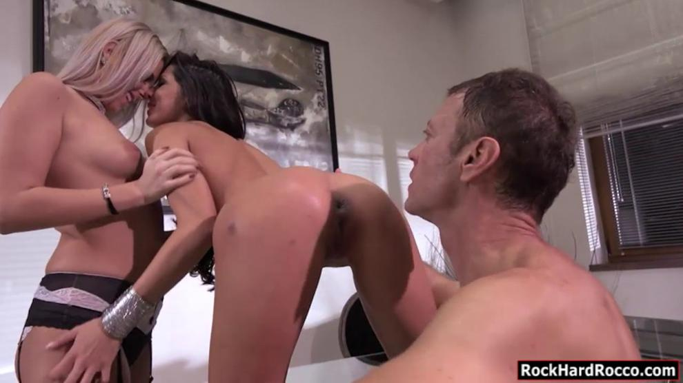 Teen Anal Threesome Ass Mouth