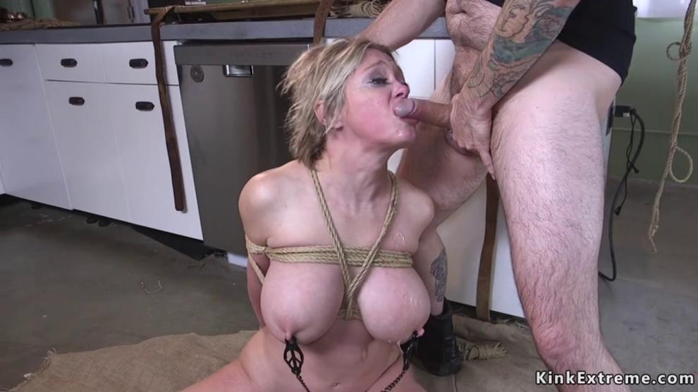 Rough Anal Bondage Teen