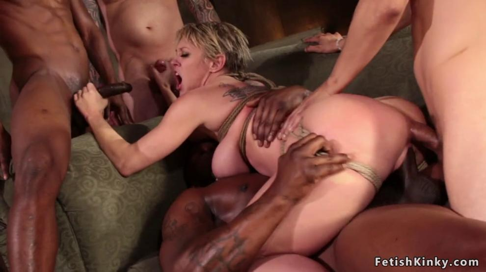Big Tit Blonde Threesome