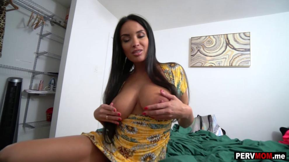 Big Tit Brunette Stepmom