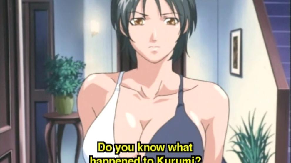 Horny hentai babe