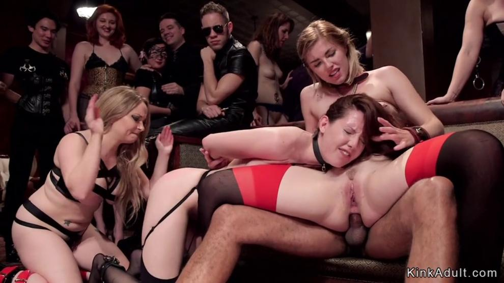 Swingers party bdsm anal orgy Porn Videos