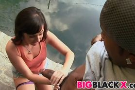 Valerie Luxe loves sex with big black cock