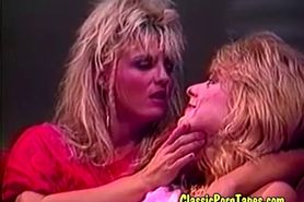 Hairy Late eighties classic lesbian porn
