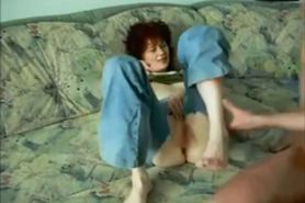 Redhead wife gets fucked on real homemade