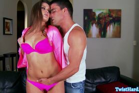 Horny Abby Cross goes down in poolboy