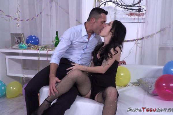 Something and fucked ass in gets slut gapped fishnets situation
