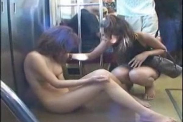 японское порно в поезде видео