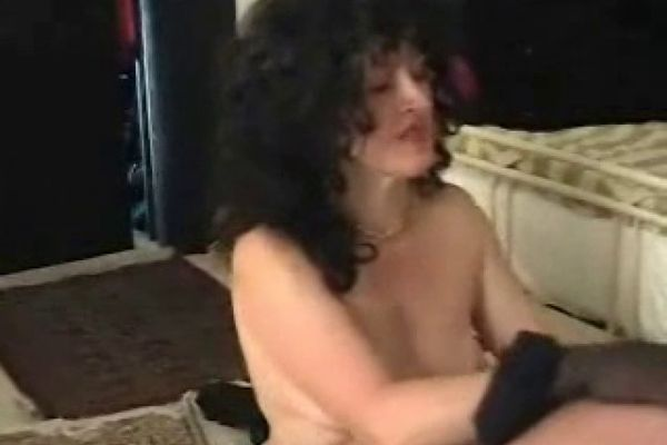 Nylon Mom Strips For Old Guy Then Jerks Him Off Empflix Porn Videos