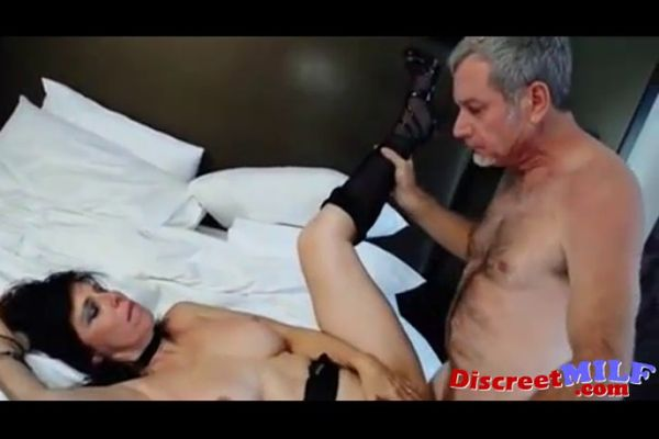 Mature couple have sex in the bedroom