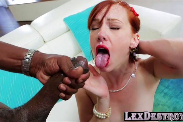 Lex steele and a cute little redhead and sexe