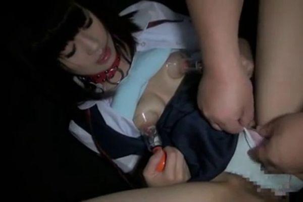 cute slave training censored part