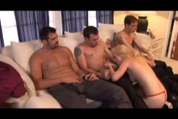 Hot Blonde Easily Takes 3 Cocks Empflix Porn Videos