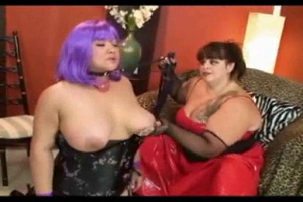 Bondage forced femdom creampie