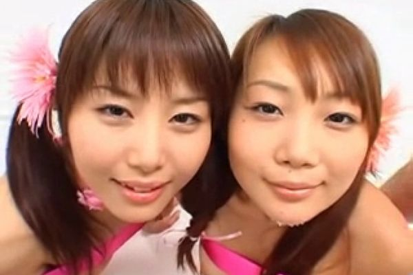 2 Japanese Girls Bukkake