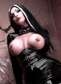 Goth pornstars cumshots — photo 11